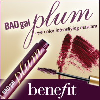 171a5d623c7 So how smart of Benefit to launch a new shade of mascara to compliment  hazel, brown, and green eye colors: Benefit's Badgal Plum Mascara ($19)!