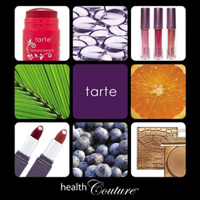 the gallery for gt tarte cosmetics logo